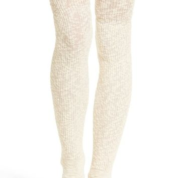 UGG® Slouchy Slubbed Thigh High Socks | Nordstrom