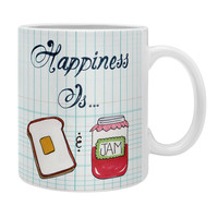 Heather Dutton Happiness Is Toast And Jam Coffee Mug