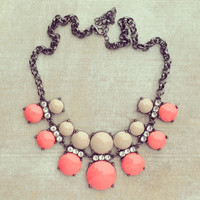 Pree Brulee - Rose Wine Necklace