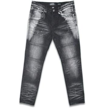 Incognito Skinny Fit Moto Jeans