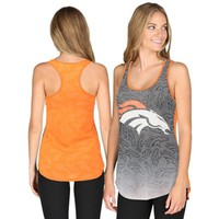Women's Orange Denver Broncos Cameo Tank Top