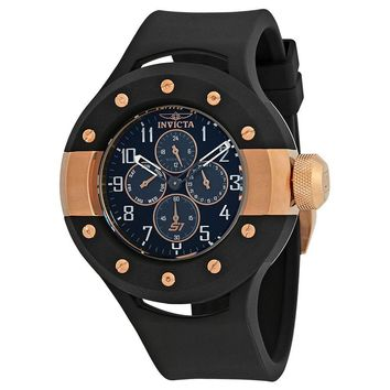 Invicta S1 Rally Multi-Fuction Black Dial Mens Watch 17387