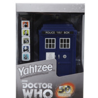 Doctor Who Yahtzee 50th Anniversary Collector's Edition Dice Game
