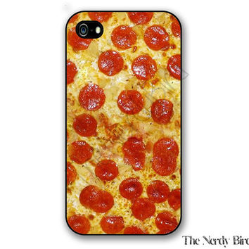 Pepperoni Pizza iPhone 4, 5, 5C, 6 and 6 plus and Samsung Galaxy s3, s4, and s5 Phone Case