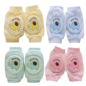 Cartoon Bear elephant moneykey Baby Safety Crawling Elbow Cushion Toddlers Knee Pads Protective Gear Baby knee pads Drop ship