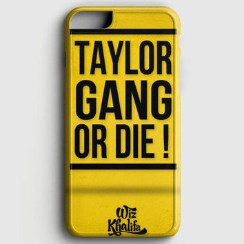 Wiz Khalifa Taylor Gang Or Die iPhone 8 Case