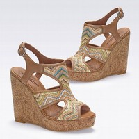 Riedel Wedge Sandal - Lucky Brand® - Victoria's Secret