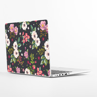 Dark Flowers Laptop Skin
