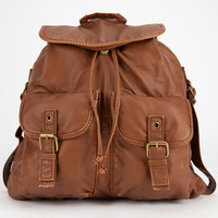 T-Shirt & Jeans Bella Backpack Cognac One Size For Women 26014840901