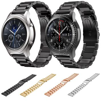 DAHASE Stainless Steel Strap For Samsung Gear S3 Band Replacement Wristbands For Gear S3 Classic Frontier Smart watch 4 Colors
