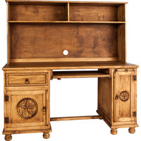 Texano Desk with Top and Legs