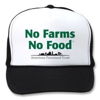 No Farms No Food Hat from Zazzle.com