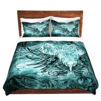 https://www.dianochedesigns.com/duvet-covers-angelina-vick-bird-gothic-aqua.html