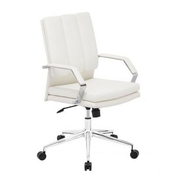 ZUO Modern Director Pro 205325 Office Chair White