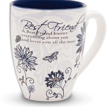 A Best Friend knows everything about you Coffee Mug