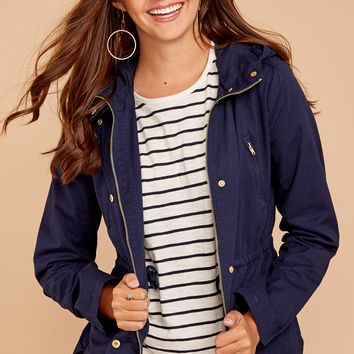 Fable Wear With All Navy Blue Jacket