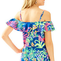 Klea Off The Shoulder Romper | 25480 | Lilly Pulitzer