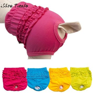 Hot Cute Pet Dog Panty Brief Bitch In Season Sanitary Pants For Girl Female