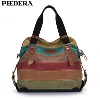 Women Handbags Patchwork Casual Women Shoulder Bags