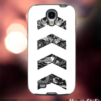 MC52Z,1,one direction,Tattoo,harry styles -Accessories case cellphone- Design for Samsung Galaxy S5 - Black case - Material Soft Rubber