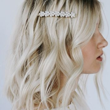 Pearl Beaded Hair Piece