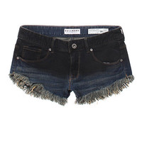 Bullhead Denim Co Fray Hem Black Ombre Shorts at PacSun.com