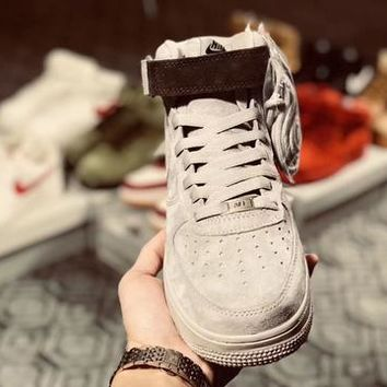 Nike Air Force 1 Grey Reigning Champ