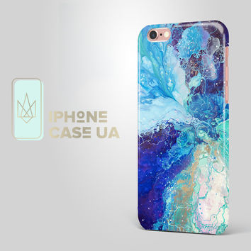 Blue Purple Marble Case iPhone SE Case 6S plus Marble iPhone 6 Plus iPhone 6S iPhone 5C iPhone 5s 4s Samsung Galaxy S4 S5 S6 S7 iPad Mini