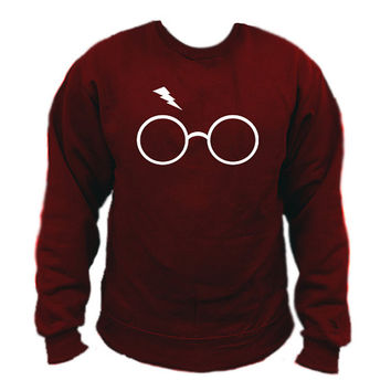 Harry Potter Lightning Glasses Sweatshirt