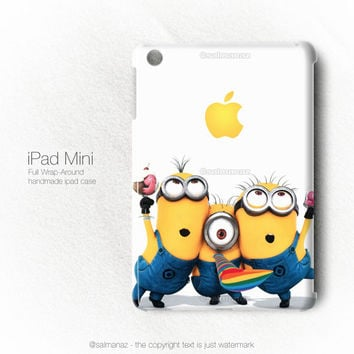 Minions Despicable Me 2 Movie iPad Mini Case, iPad 2/3/4 Cover