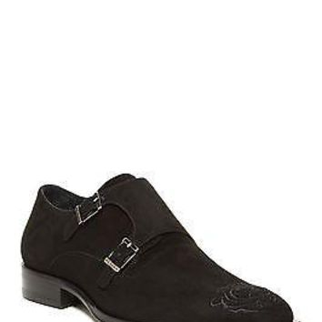 NEW MEZLAN MASSARI BLACK SUEDE  MENS DRESS SHOES