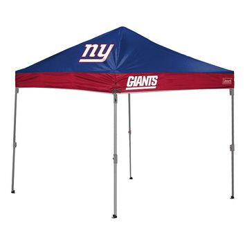 Coleman New York Giants Straight Leg Shelter (Blue)