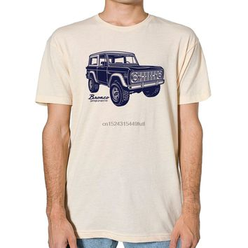 Classic Ford Bronco Graphic printed on Mens T-shirt