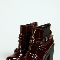 Maddy Buckled Chunky Ankle Boot