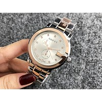 GUCCI 2018 new men and women couple models waterproof quartz watch F-H-JH 1