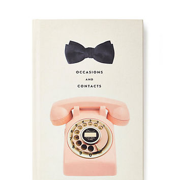 Occasion and Contacts address Book by Kate Spade New York