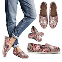 Floral Unicorn Casual Shoes