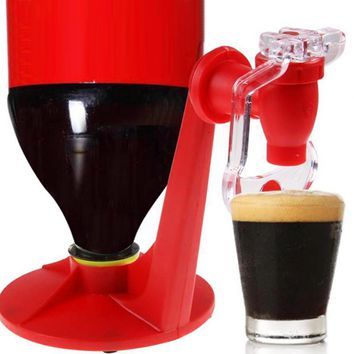 New Practical Mini Upside Down Drinking Fountains Cola Beverage Switch Drinkers Hand Pressure Water Dispenser Automatic