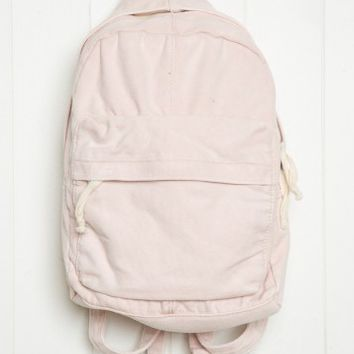 PINK CANVAS MINI BACKPACK