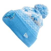 Men's New Era Cap 'Snowburst - NFL Detroit Lions' Pom Knit Cap