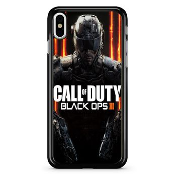 Call Fo Duty Black Ops 3 iPhone X Case