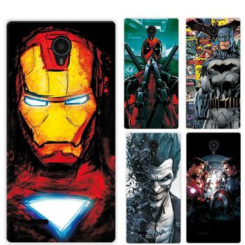 Deadpool Dead pool Taco Charming Painted Case Cover For Micromax Q415 4.5 inch Marvel Avengers Captain America  Funda For Micromax Q415 Phone AT_70_6