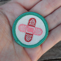 Band-Aid / First Aid 'Survival' Scout-Style Merit Badge