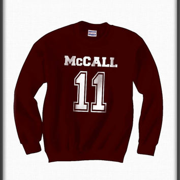 Mccall 11 teen wolf beacon hills lacrosse Unisex Crewneck Sweatshirt S to 3XL Maroon, Black, Red, Navy Blue