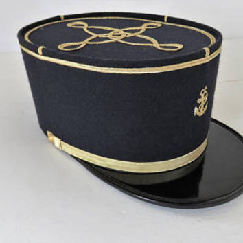 Vintage French, Naval Officer, Kepi Hat