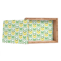 Heather Dutton Right Direction Lemon Lime Jewelry Box