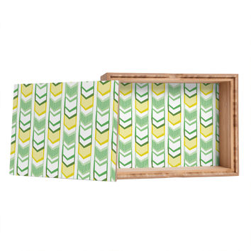 Heather Dutton Right Direction Lemon Lime Storage Box