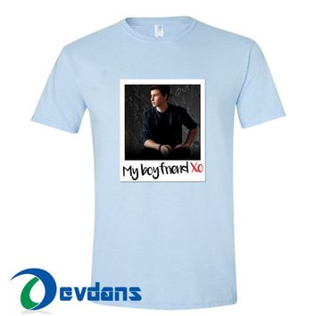 Shawn Mendes Is My Boyfriend T Shirt Women And Men Size S To 3XL