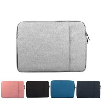 Waterproof Laptop Sleeve Notebook Bag Pouch Case for Macbook Air Pro 12 13.3 14 15.6inch