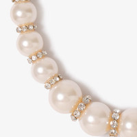 Pearlescent Bead Necklace